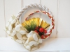 New Year Wreath Plum