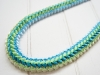 4colors braid Lei